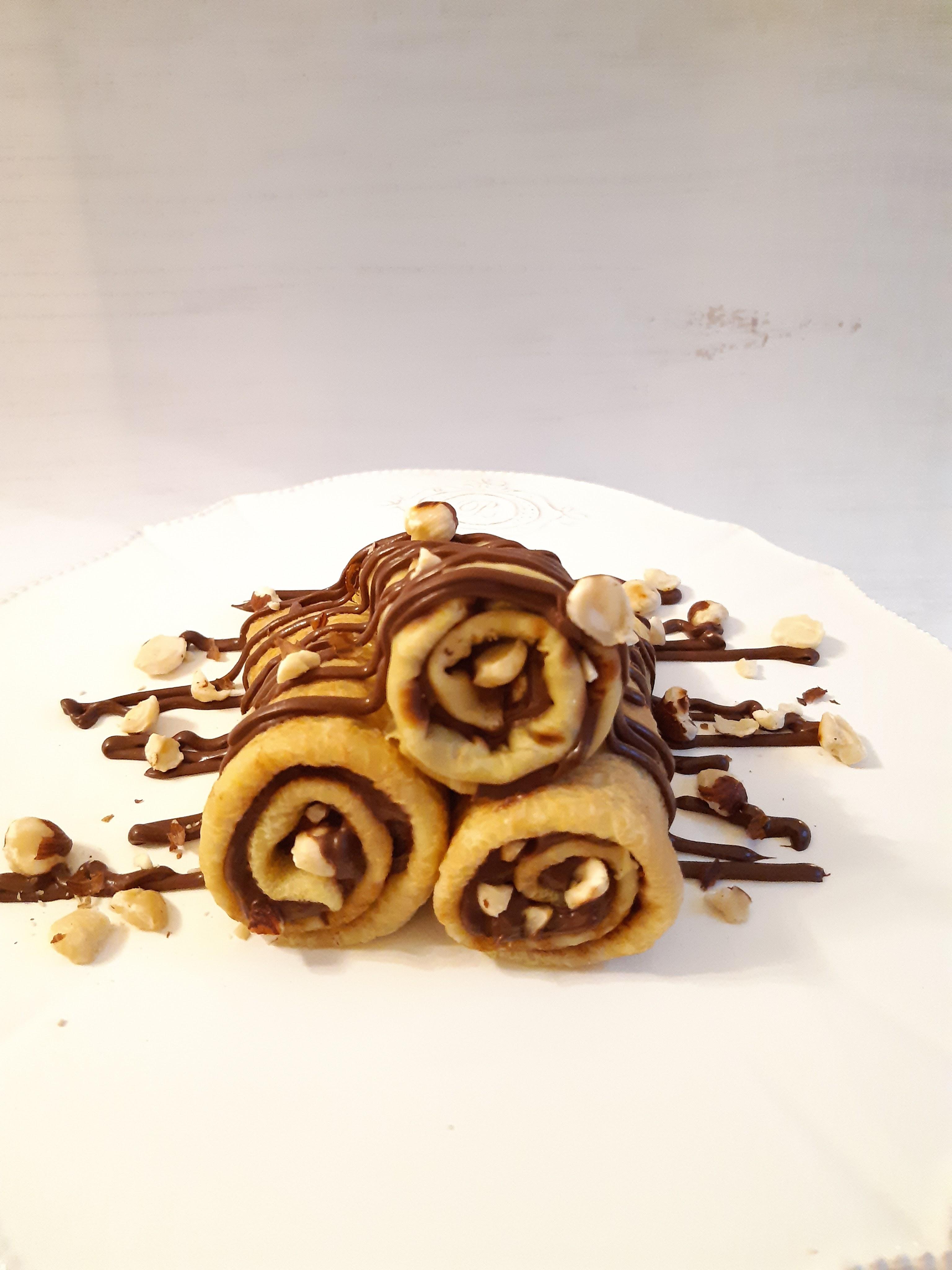 crêpes vegan chocolat noisettes