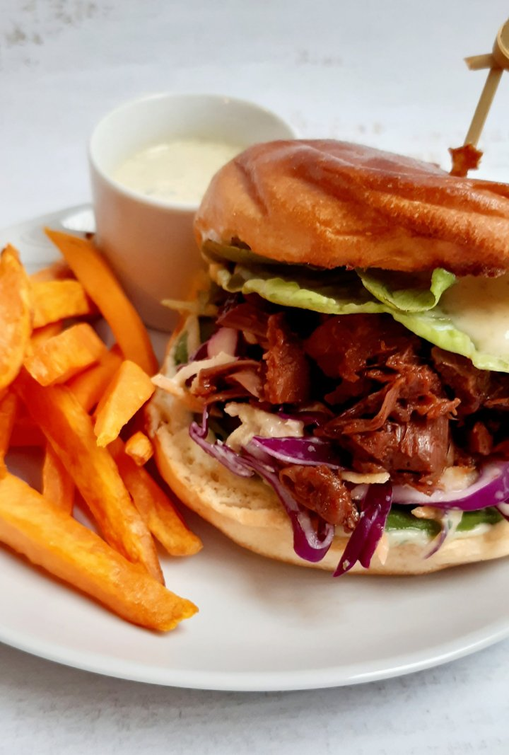BBQ Style Burger