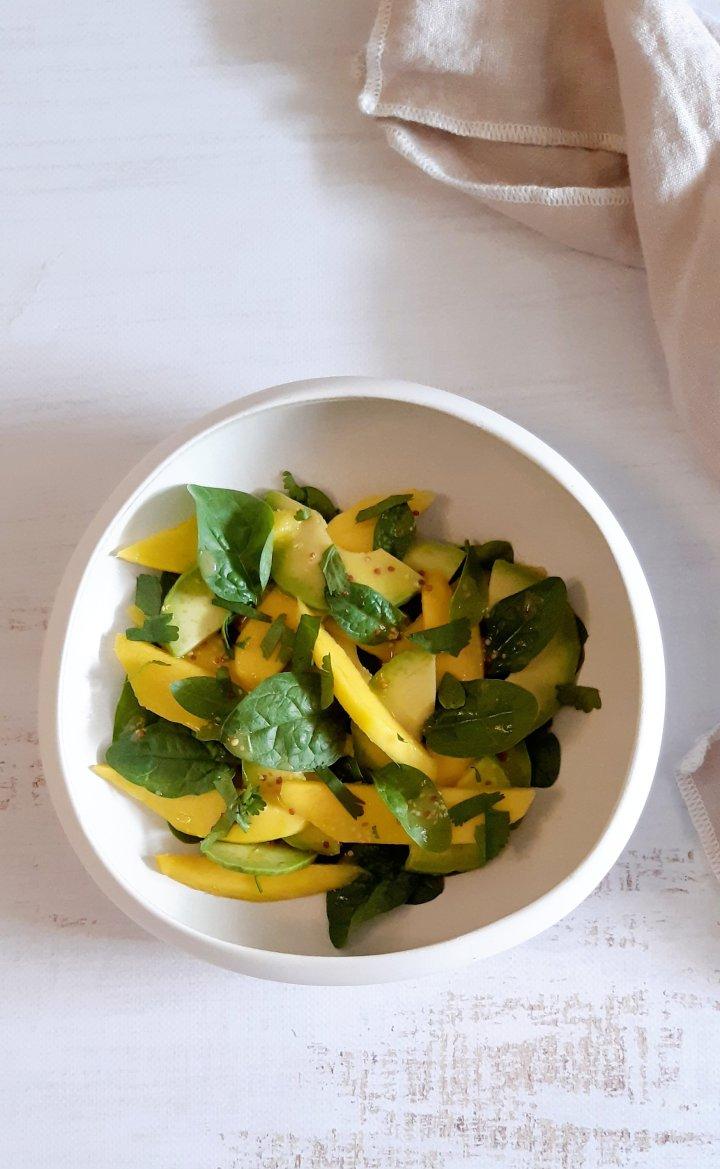 Salade mangue etavocat