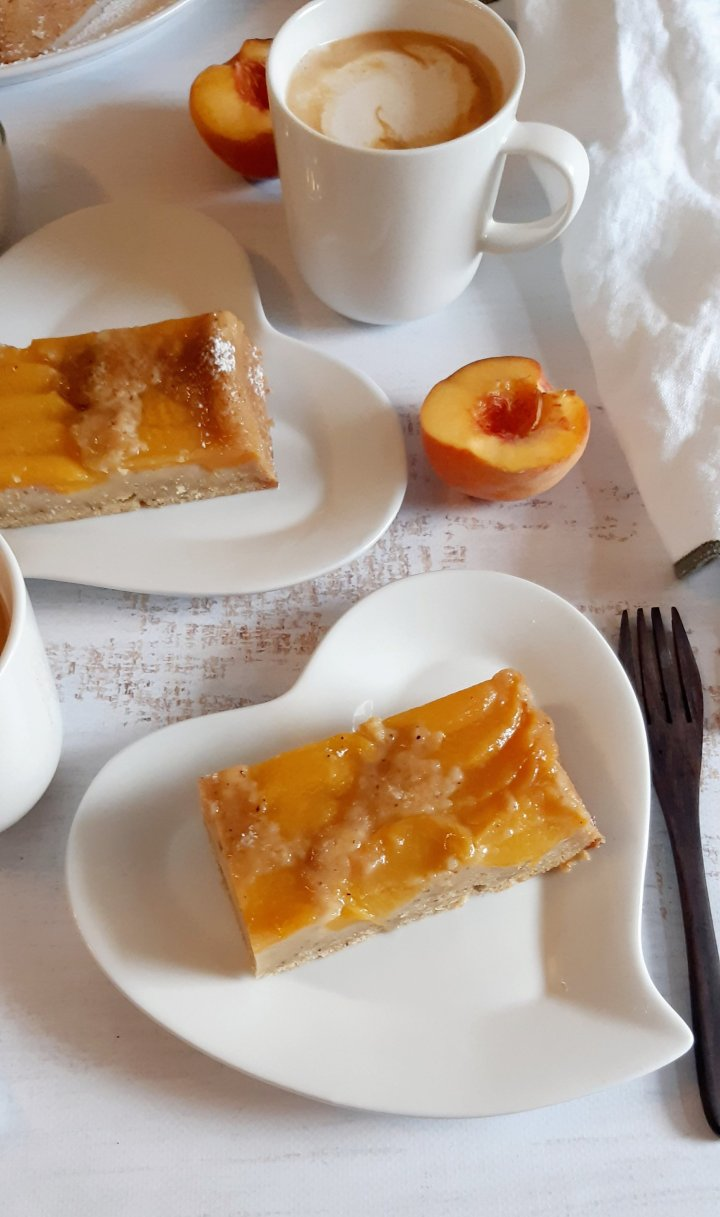 Cake upside-down à lapêche